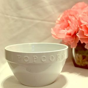 Large Popcorn bowl from The Pottery Barn